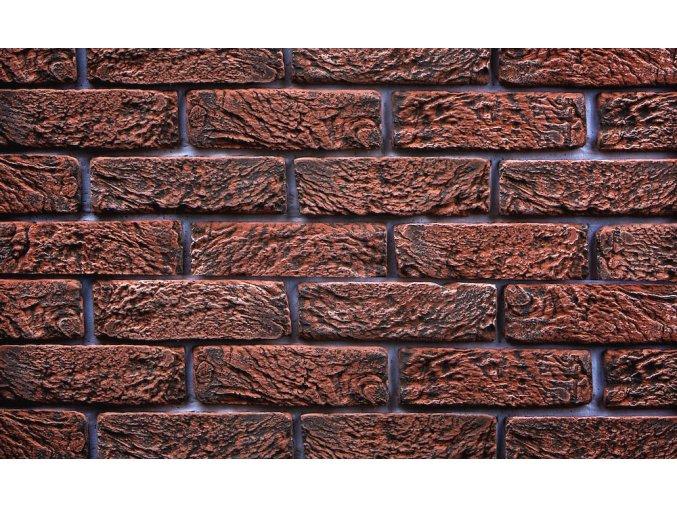 Imitace cihla Hand Brick červená