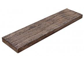 imitace dřeva pražec hrubý D 90 x 22,5 x 4,5cm