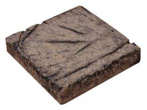 imitace dřeva prkno jemné A 22,5 x 22,5 x 4,5cm