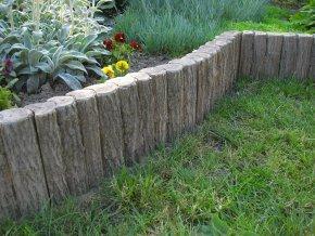 Palisáda imitace dřeva