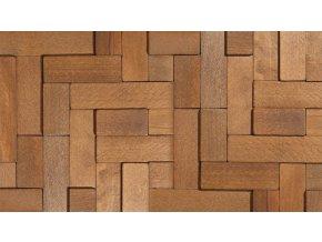 Dřevěný obklad Cube 2 - Stegu