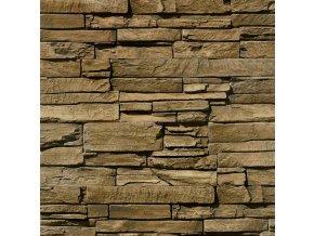 Obklad imitace kamene Iseo Brown Dakama