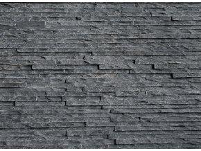 Břidlice černá 60x15cm - tenký pásek N3003