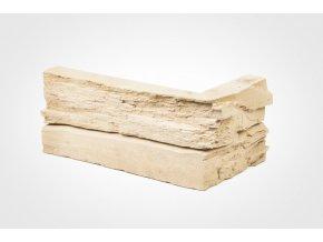 Obklad imitace kamene SW pískový - roh
