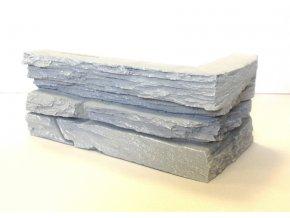 Rohový obklad imitace kamene SW šedý Luminta