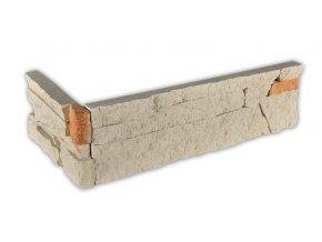 Kámen lámaný béžový - roh
