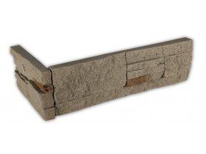 Kámen lámaný hnědošedý - roh
