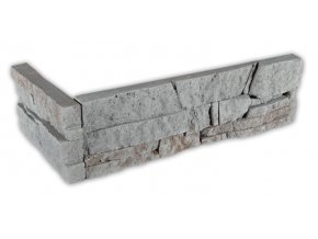 Kámen lámaný šedý - roh
