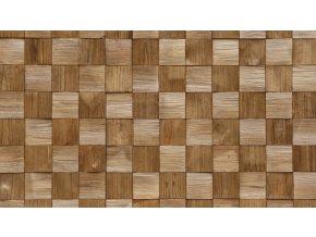 Dřevěný obklad QUADRO 3 Stegu 1