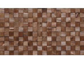 Dřevěný obklad QUADRO MINI 2 Stegu