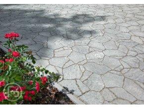 Dlažba Camino přírodní šedá Ferobet