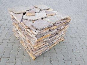 Obklad Porfyr nepravidelný tvar rezavý 1-3cm