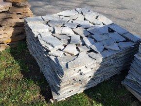 kvarcit šedý obklad kámen
