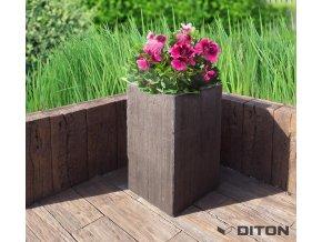 Diton květináč I.dub 48x48x80cm 1