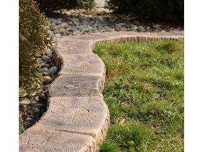 Obruba trávníková 24x12x4cm