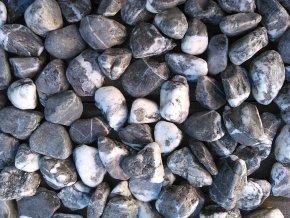 oblázek vápenec šedý žilkovaný