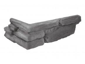 Obklad imitace kamene Justina - roh