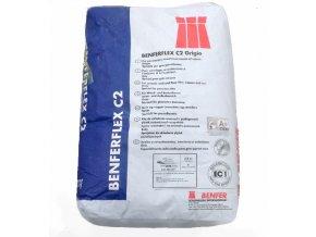 Lepidlo exteriérové BENFERFLEX C2 TE S1 šedý 25kg