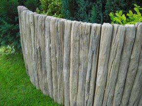 imitace dřeva palisáda 60cm