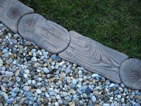 imitace dřeva obruba trávníková II