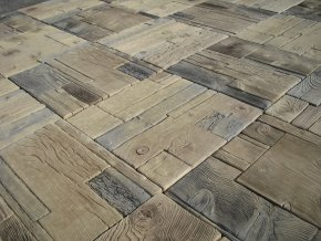 gazdovská dlažba imitace dřeva