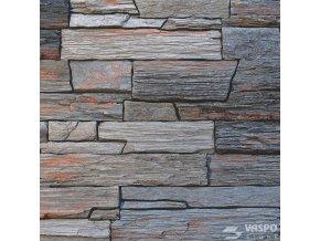 Kamenný obklad břidlice hradní šedá - Vaspo