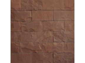 Kamenný obklad břidlice standard hnědá - Vaspo