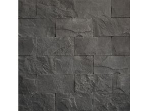 Kamenný obklad břidlice standard tmavošedá - Vaspo