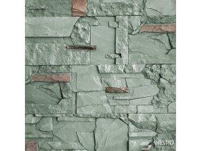 Obklad kámen mix zelenošedý Vaspo