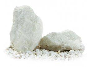 Kámen kusový mramor bílý 30-50cm