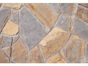 Terchovský pískovec obklad 10-50cm, tl. 1-3cm