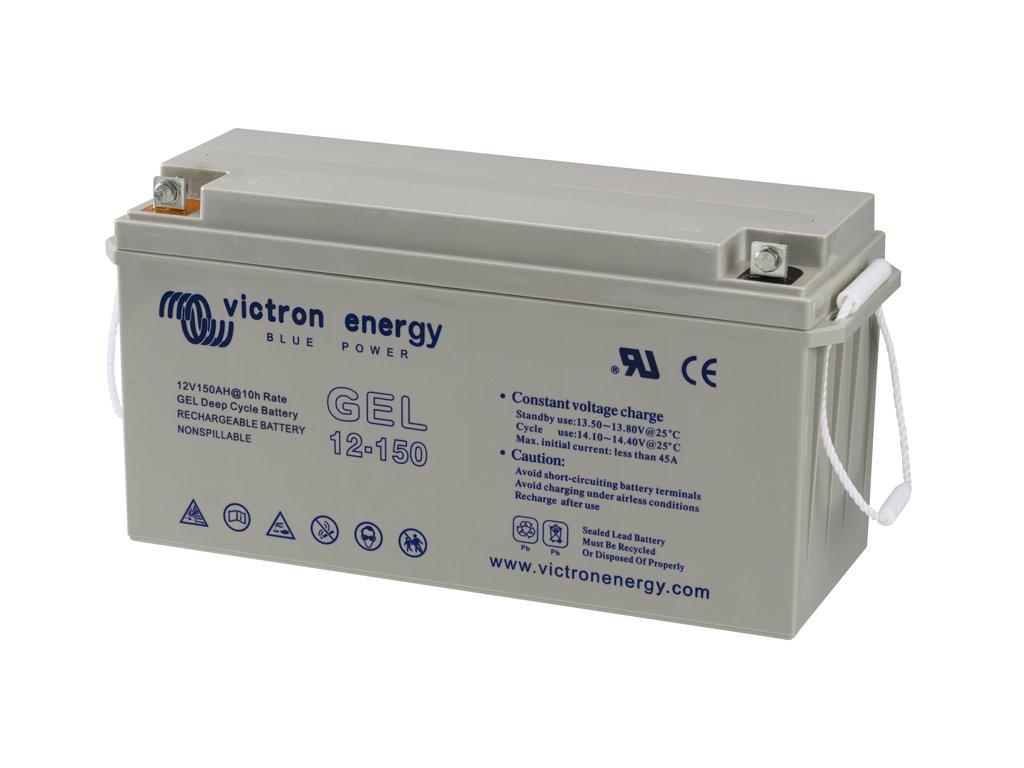 3132 O battery gel 12v 150ah deep cycle left 72dpi