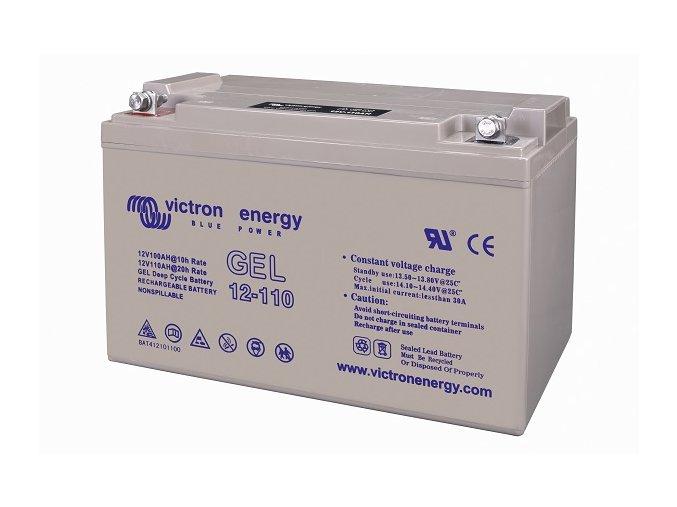3130 O bat412101100 12v 110ah gel deep cycle battery left