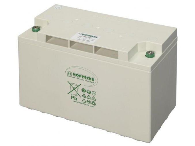 solarna bateria hoppecke 105ah solar.bloc (sun power vrm)