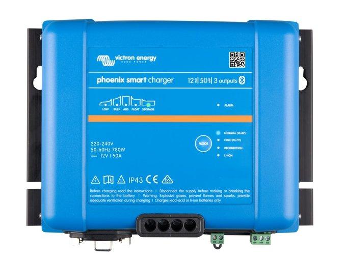 Nabíječka Victron Energy Phoenix Smart IP43 Charger 12V/50A (3)
