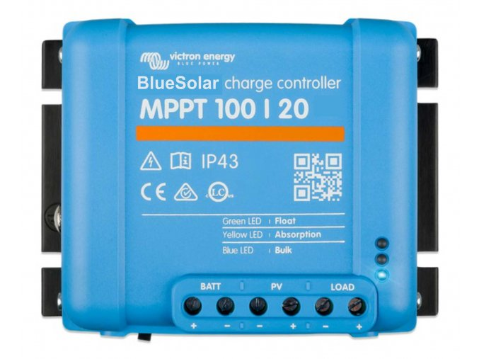 7700 O victron energy bluesolar mppt 100 20 top