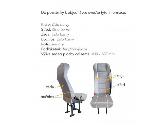 veris sedadlo béžové