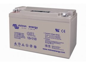 3130 O bat412101100 12v 110ah gel deep cycle battery left