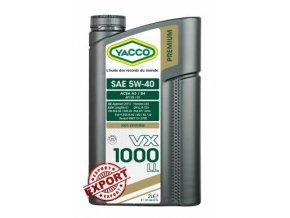 yacco vx 1000 ll 5w40 (1)