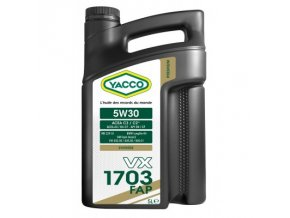 yacco vx 1703 fap 5w30 (1)