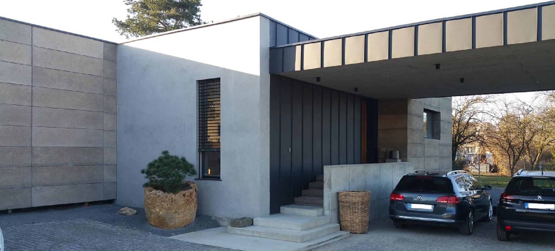 Rodinný dům z lehké tenkostěnné ocelové konstrukce