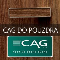 Dveře CAG do pouzdra
