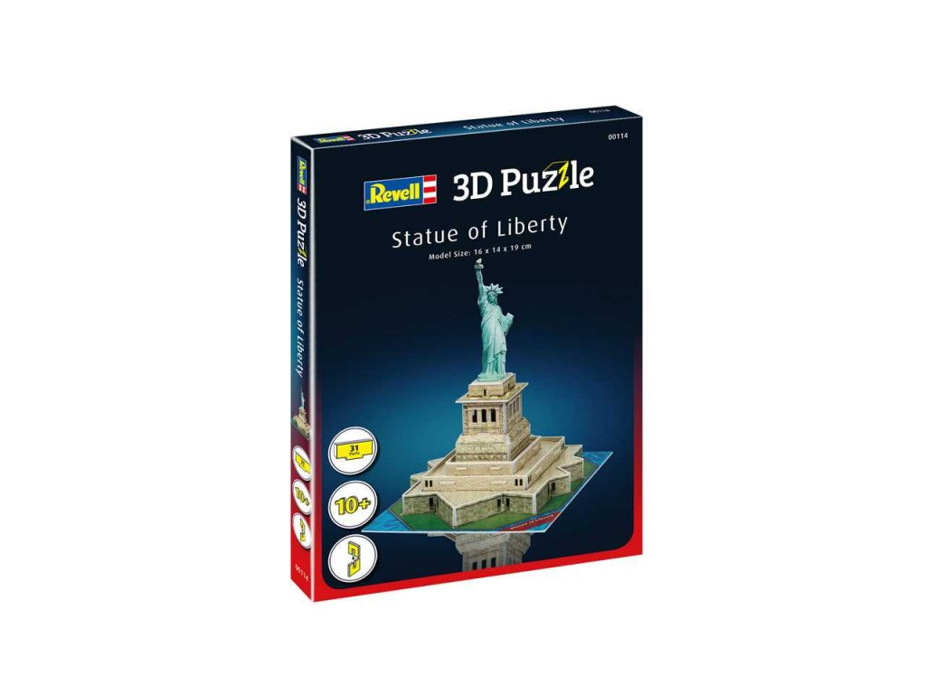 3D Puzzle REVELL 00114 - Statue of Liberty
