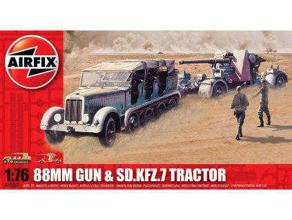 Classic Kit military A02303 - 88mm Gun & Sd Kfz7 Tractor (1:76)