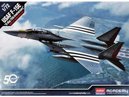 "Model Kit letadlo 12568 - USAF F-15E ""D-Day 75th Anniversary"" (1:72)"