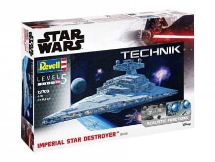 Plastic ModelKit TECHNIK SW 00456 - Imperial Star Destroyer (1:2700)