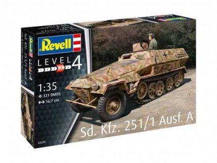 Plastic ModelKit military 03295 - Sd.Kfz. 251/1 Ausf.A (1:35)