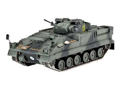 Plastic ModelKit tank 03128 - Warrior MCV (1:72)