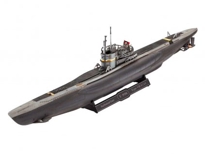 ModelSet ponorka 65154 - German Submarine Type VII C/41 (1:350)