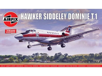 Classic Kit VINTAGE letadlo A03009V - Hawker Siddeley Dominie T.1 (1:72)